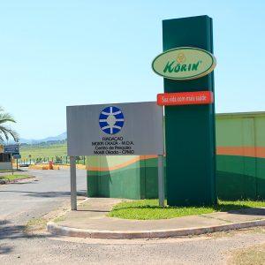 Fachada Korin em Ipeúna | Portal Serra do Itaqueri
