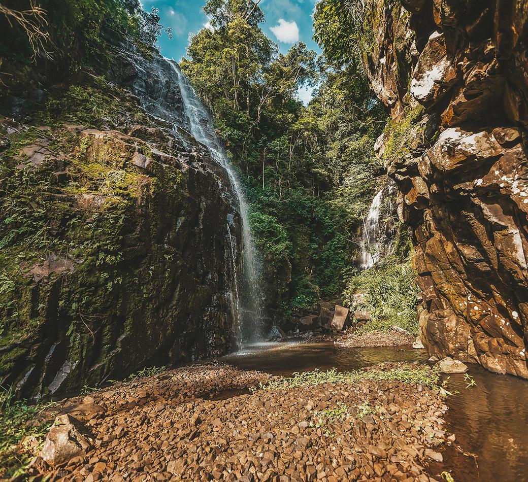 Cachoeira do Bissoli em Torrinha | Portal Serra do Itaquerí