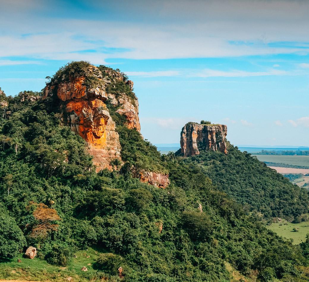 Morro do Camelo em Analândia | Portal Serra do Itaquerí