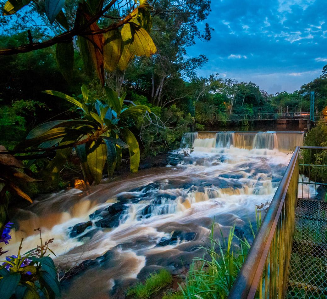 Parque dos Saltos em Brotas | Portal Serra do Itaquerí