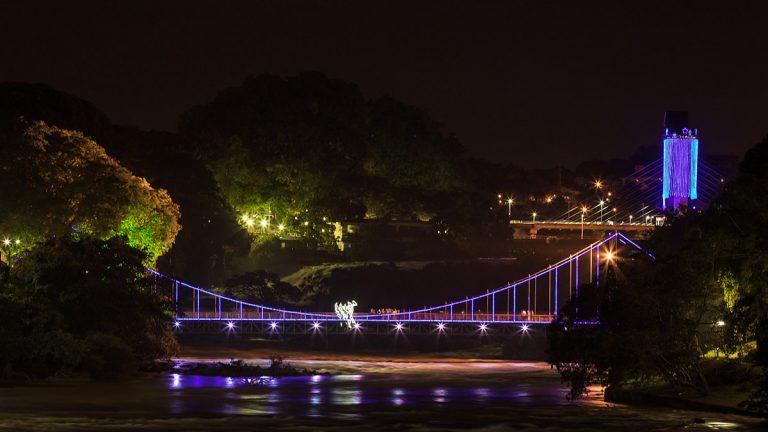 Ponte Iluminada Rio Piracicaba | Portal Serra do Itaqueri