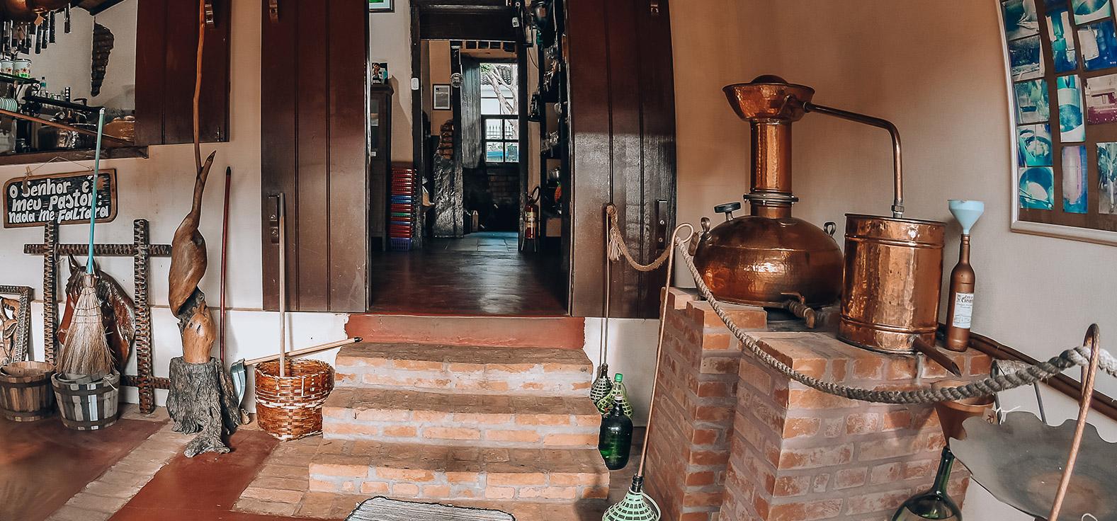 Casa da Cachaça em Brotas | Portal Serra do Itaquerí