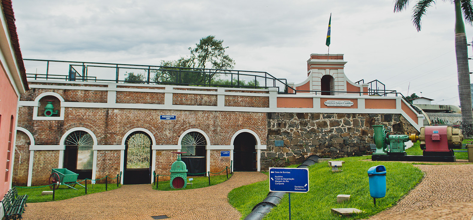 Museu da Água em Piracicaba | Portal Serra do Itaquerí