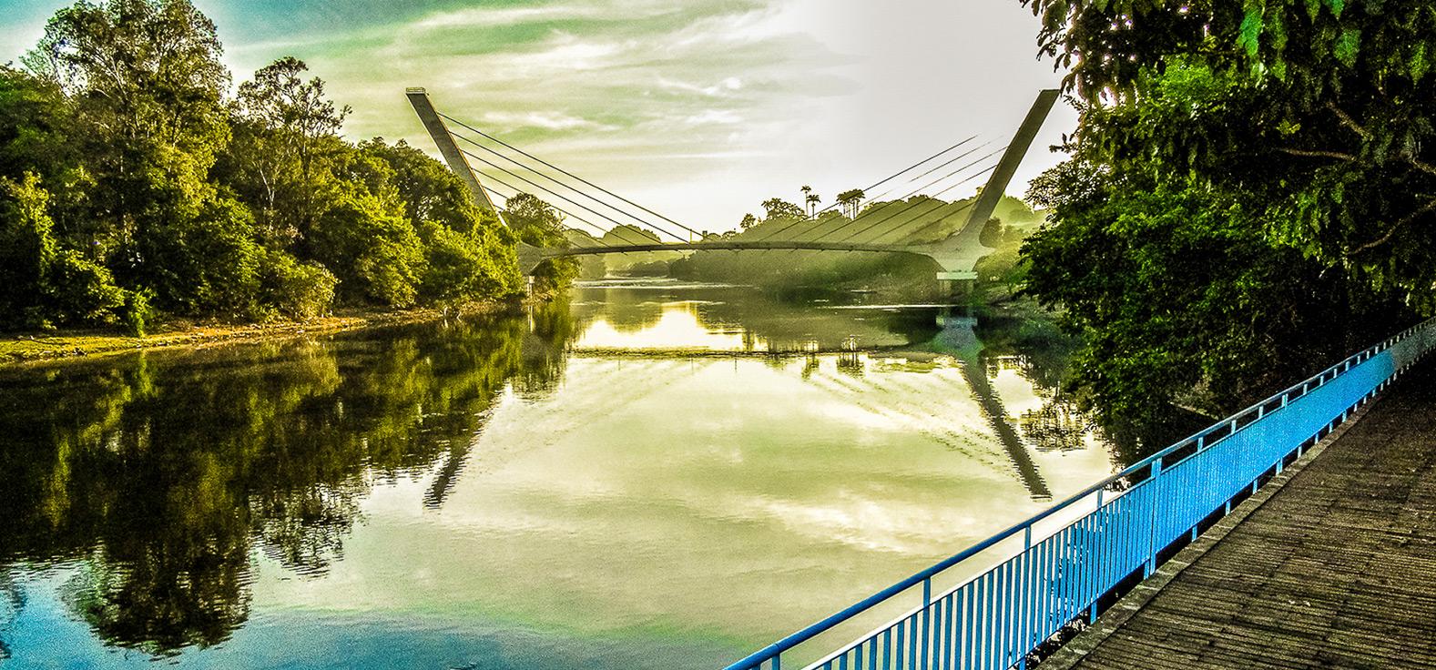 Ponte Estaiada em Piracicaba | Portal Serra do Itaquerí