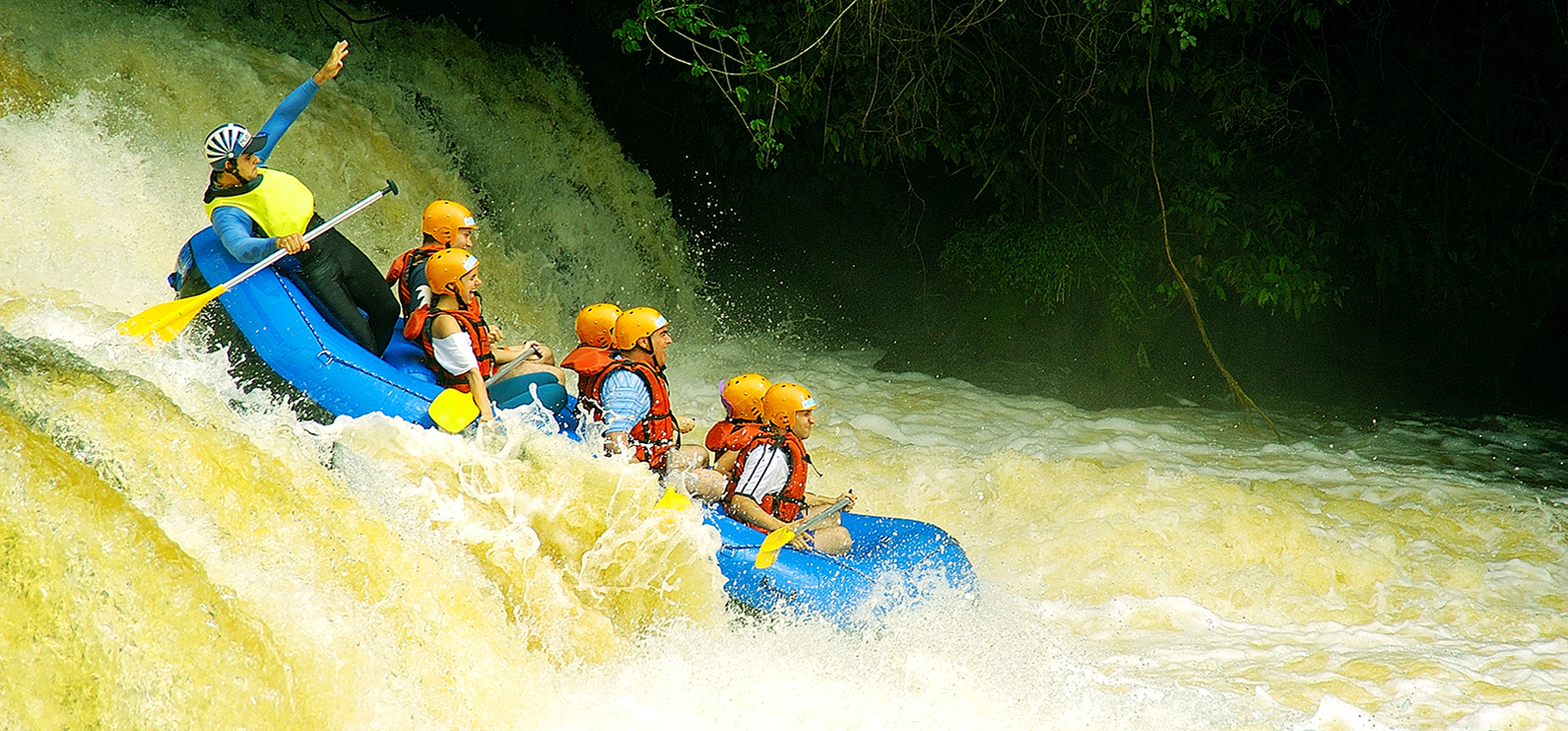 Rafting em Brotas | Portal Serra do Itaquerí