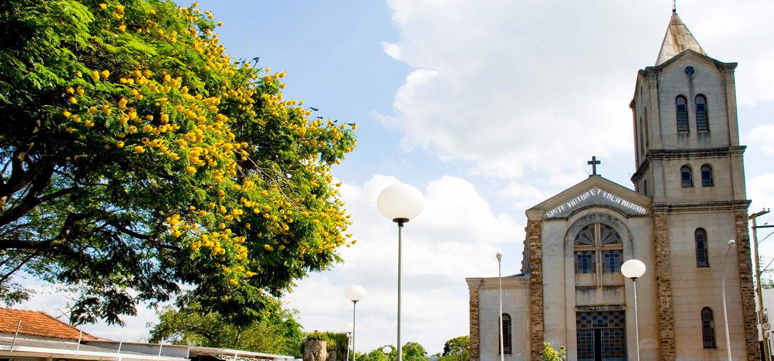 Igreja em Piracicaba | Portal Serra do Itaquerí