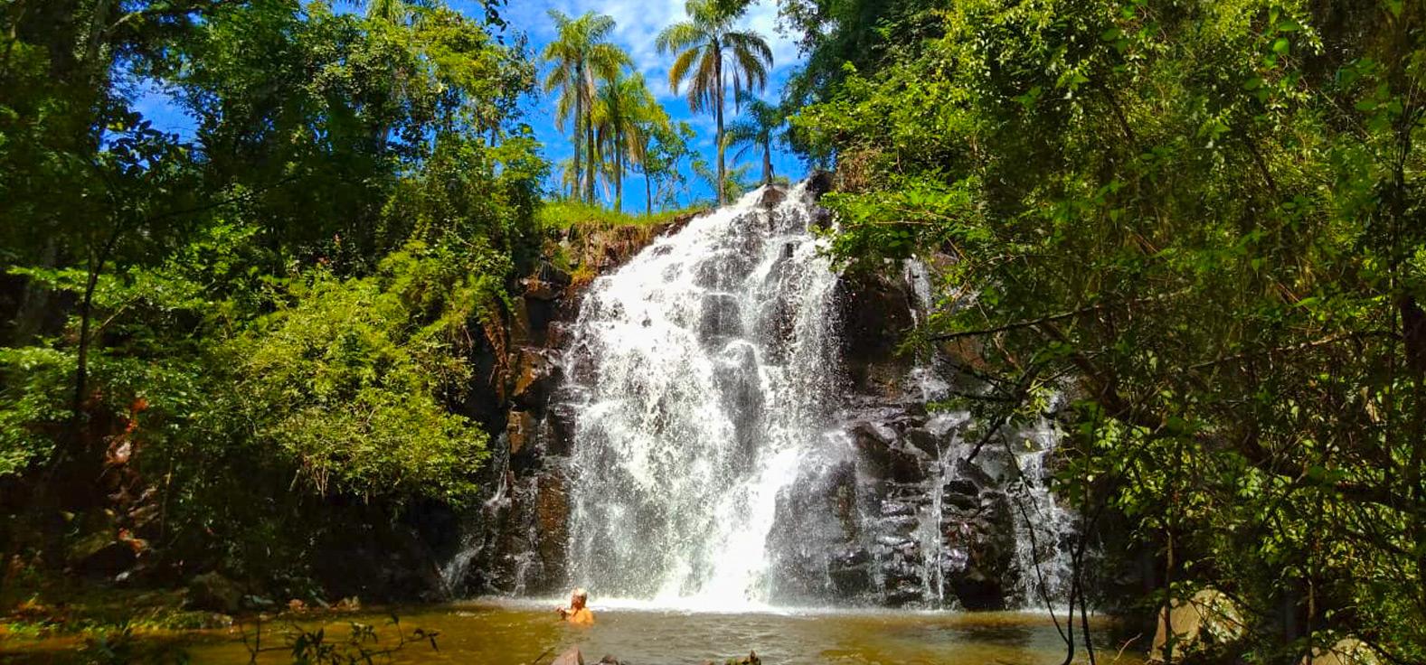 Cachoeira São José em Itirapina
