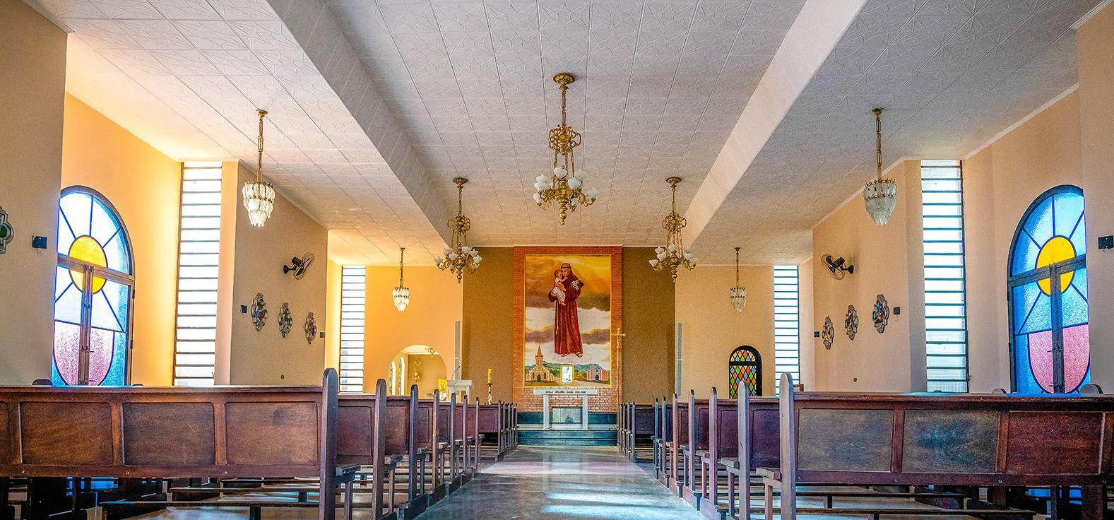 Capela Santo Antonio em São Pedro | Portal Serra do Itaquerí