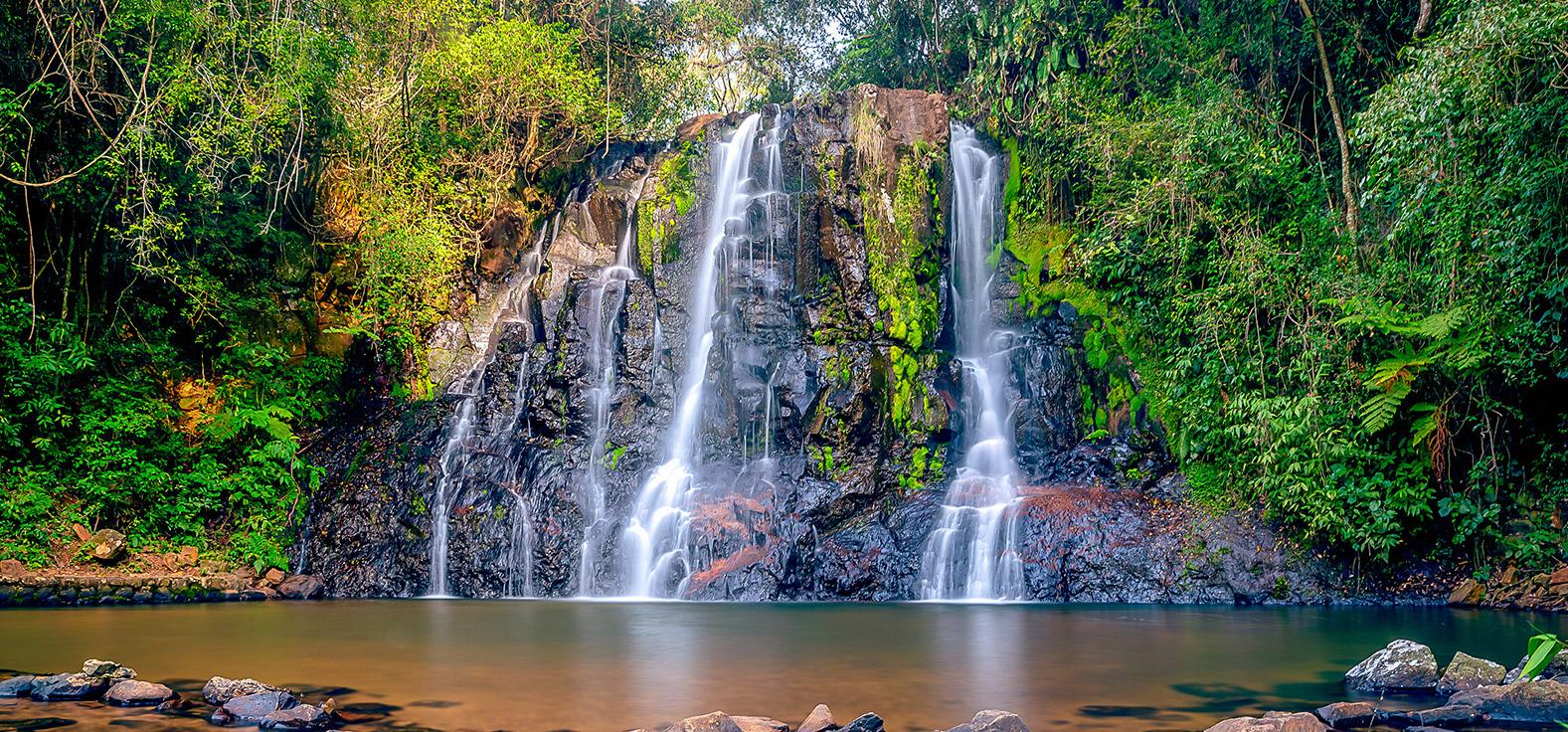 Cascata Dorigon em São Pedro | Portal Serra do Itaquerí