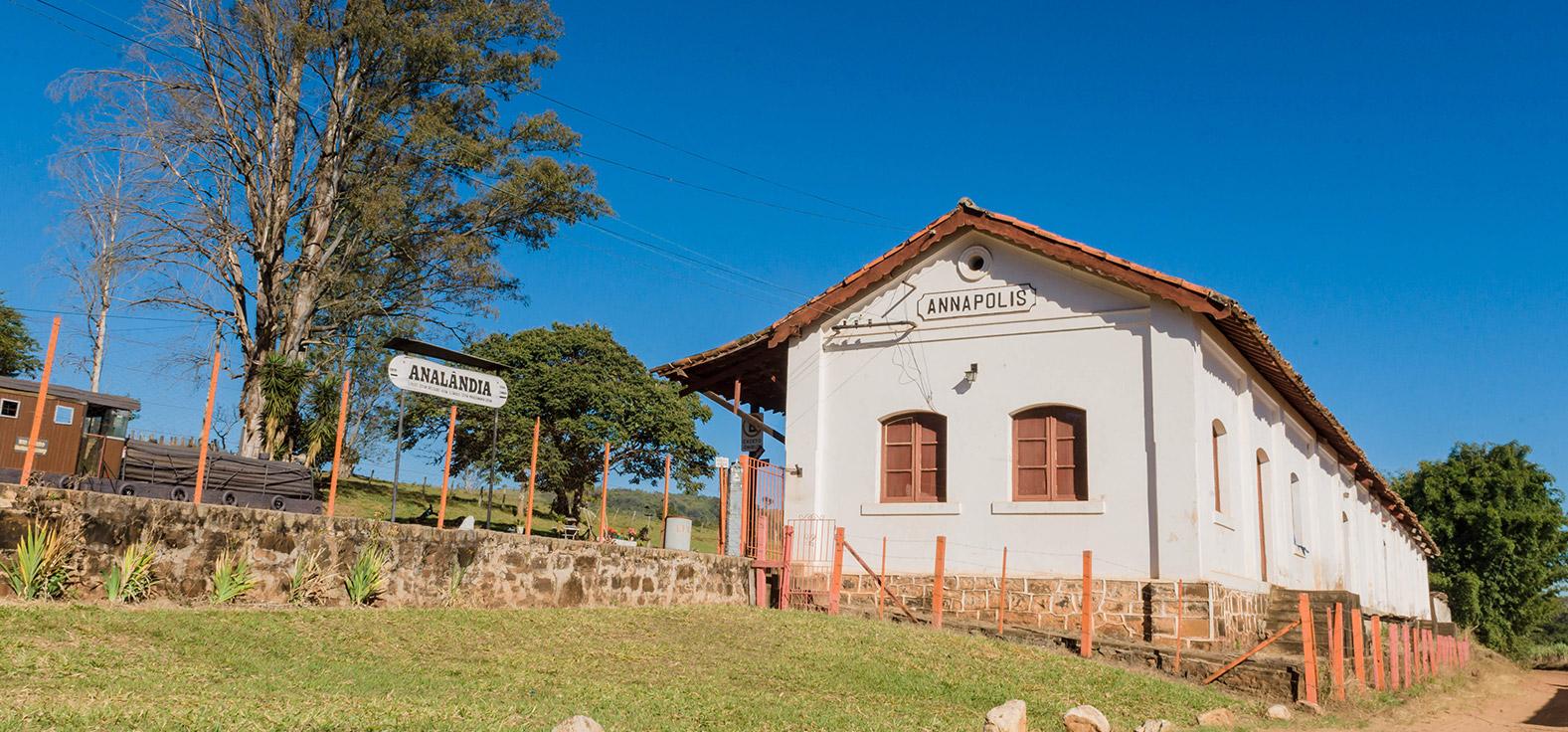 Estação Annápolis em Analândia | Portal Serra do Itaquerí