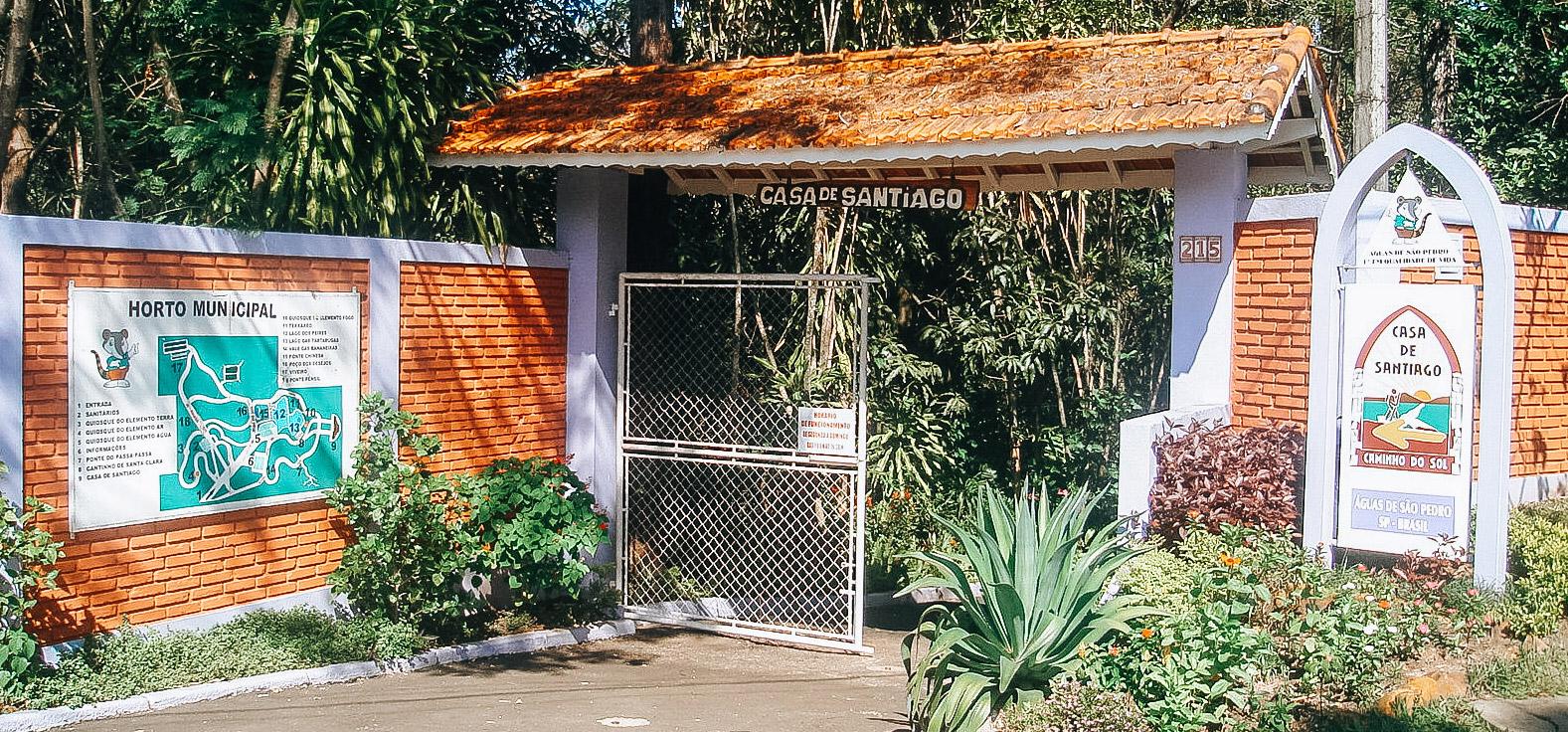 Mini Horto Fontes Luminosas em Águas de São Pedro | Portal Serra do Itaquerí