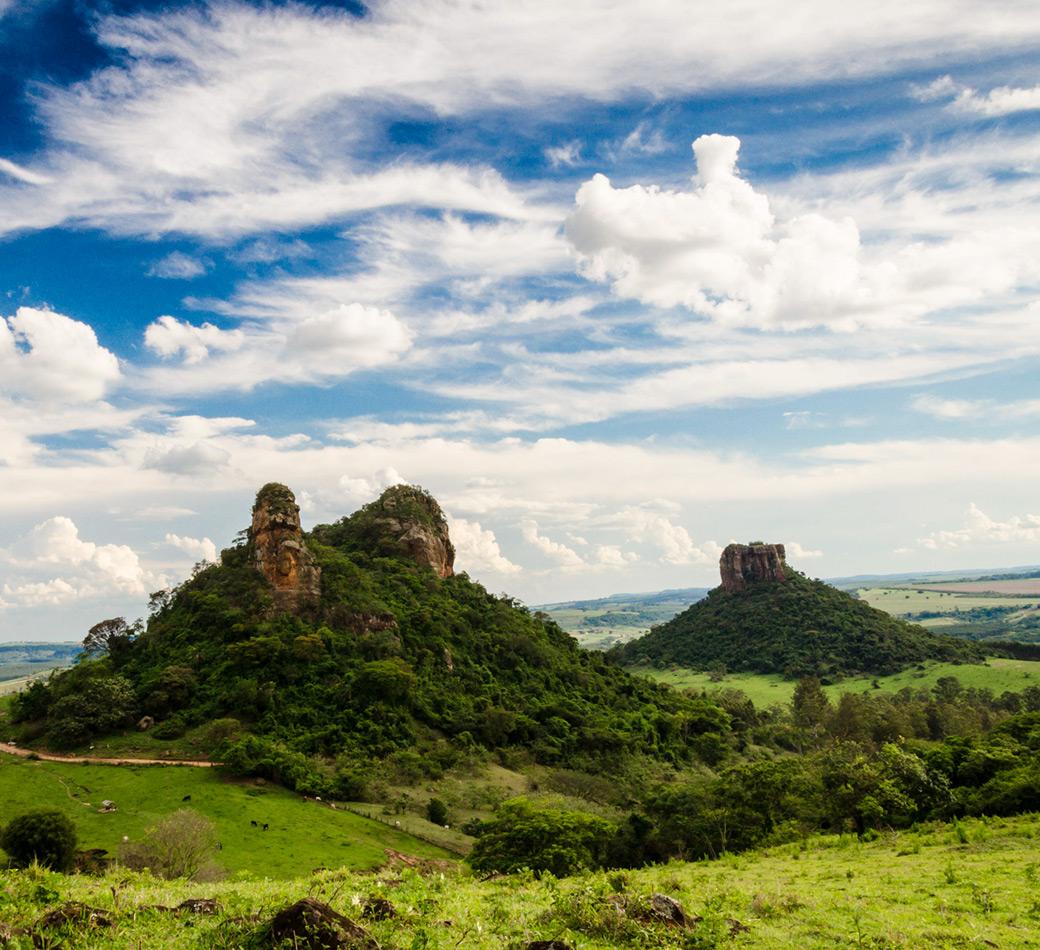 Morros em Analândia | Portal Serra do Itaqueri