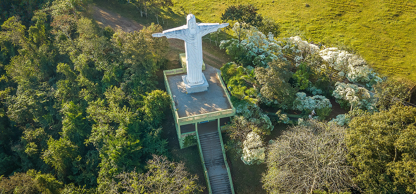 Parque do Cristo em São Pedro | Portal Serra do Itaquerí