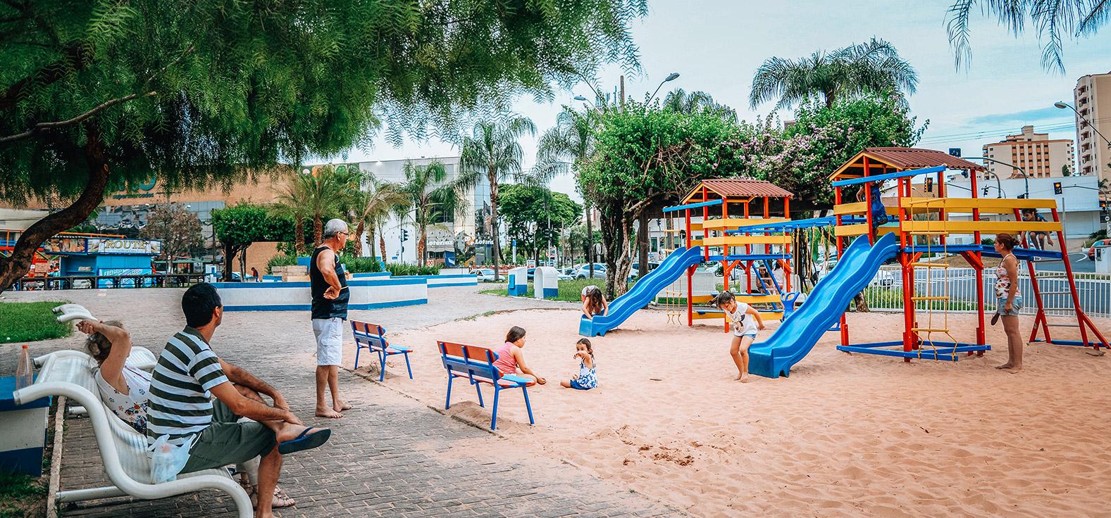 Praça Dalva de Oliveira em Rio Claro | Portal Serra do Itaquerí