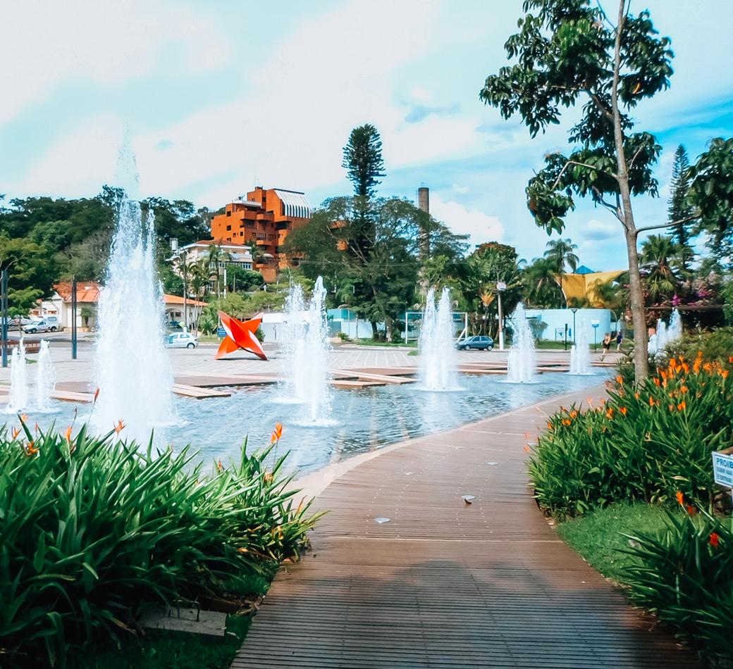 Praça em São Pedro | Portal Serra do Itaqueri