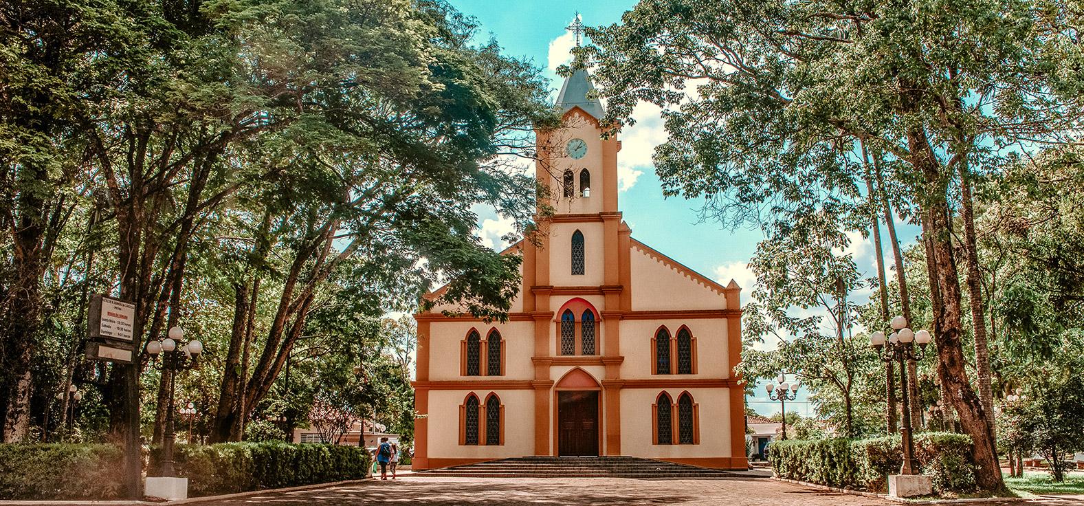 Praça Vicente em Ipeúna | Portal Serra do Itaquerí