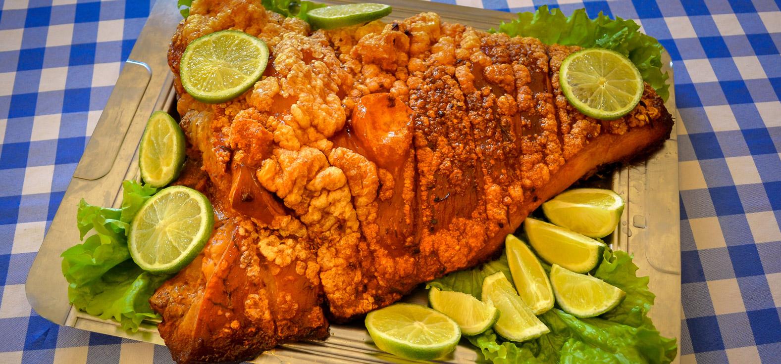 Pururuca do Restaurante Baddy em Corumbataí | Portal Serra do Itaquerí