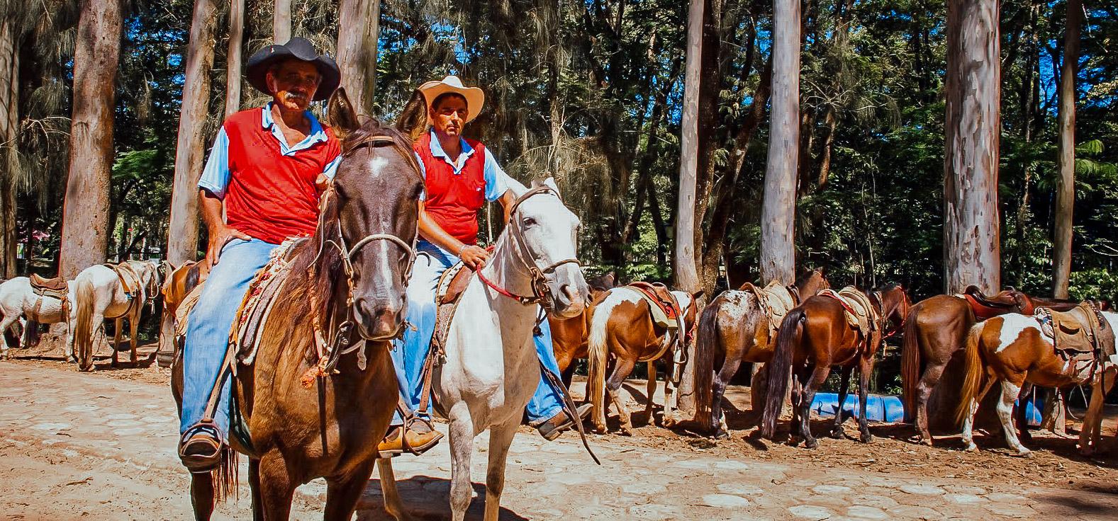 Rancho dos Cavalos em São Pedro | Portal Serra do Itaquerí