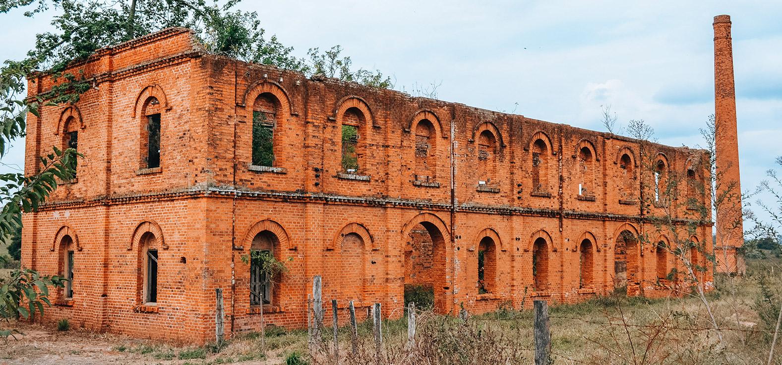 Ruínas da Olaria em Corumbataí | Portal Serra do Itaquerí