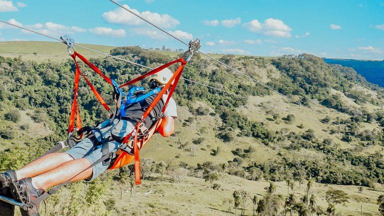 Tirolesa em Brotas | Portal Serra do Itaqueri