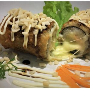 Nikkey Sushi - Hot Roll especial