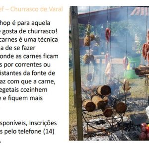 Workshop 18 de Agosto às 12h - Brotas Beef Churrasco de varal